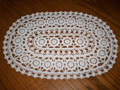 US $6.99 Used in Collectibles, Linens & Textiles (1930-Now), Lace, Crochet & Doilies
