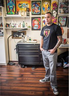 Reality TV star Jime Litwalk, 40, has inked locals and celebrities alike in a career spanning more than 20 years. Tattoo Artist - Orlando Magazine - October 2015 - Orlando, FL