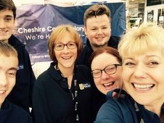 Cheshire Police: In July 2016, this selfie was posted from a recruiting stall set up by the Cheshire Police in a busy street of their hometown. The Cheshire Police Constabulary was founded in 1857 and serves over a million people spread across 919 square miles, from urban to rural areas.