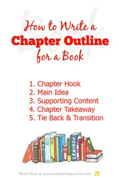 How to create a chapter outline for a book with Word Wise at Nonprofit Copywriter Writing A Book Outline, Book Writing Tips, Writing Ideas, Creative Writing, Book Proposal, Nonsense Words, Fiction Writing, School Notes, School Tips
