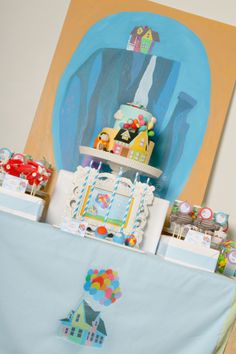 Party Printables | Party Ideas | Party Planning | Party Crafts | Party Recipes | BLOG Bird's Party: Up Movie Inspired Birthday Party