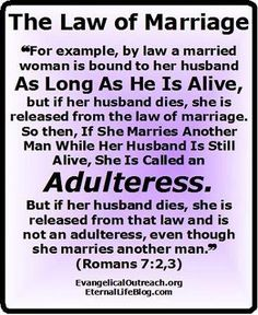 What does god say about dating before divorce