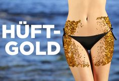 """Love handles are called """"Hüftgold"""" in German, which translates to """"hip gold"""".   24 Words That Are Better In German"""