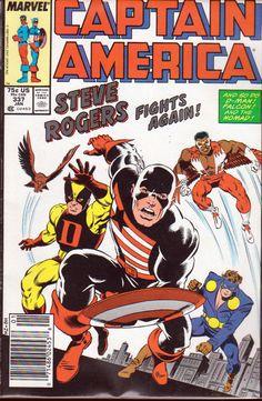 captain america comic book photos | ... Comics :: Captain America :: 1987 Captain America Comic Book #337