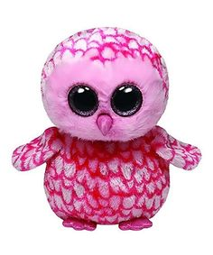 Loving this Pinky the Pink Barn Owl Beanie Boo on #zulily! #zulilyfinds