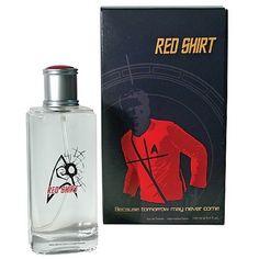 because tomorrow may never come, haha xD you get it? red shirt tomorrow may never come? hilarious xD
