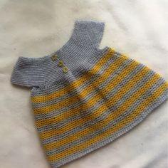 Hæklet babykjole - Frøken Thys kreahjørne