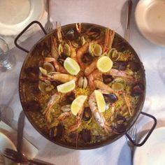 Bosque Palermo • Restaurant paella à Barcelone