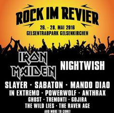 Check out the initial line up for #RockimRevier festival in 2016!