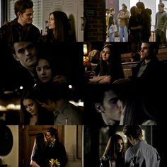 Stelena in 1x16 l The Vampire Diaries