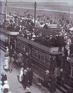 The Swansea & Mumbles Railway – Hyde Park Now Swansea Bay, Wales Map, Rail Car, Double Deck, Great Western, Diesel Locomotive, Public Service, Hyde Park, South Wales