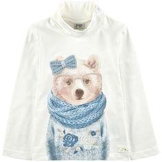 Mayoral - Stretch jersey polo neck sweater - 145814