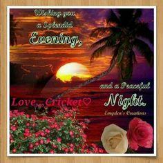 Krásny večer!