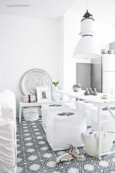 All white Moroccan