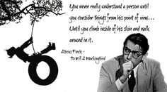 empathy quotes in to kill a mockingbird