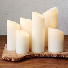 "(One) 3""x5"" Flicker Flameless Candles 