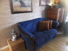 Ekornes Toseter Sofa I Behagelig Alcantara Stoff, Selges Billig For 1500 Kr  ! Kostet 11