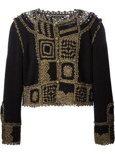 Moschino Vintage crochet cardigan