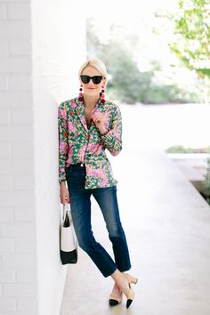 everyday outfits for moms,everyday outfits simple,everyday outfits casual,everyday outfits for women Pajama Shirt, Pajama Top, Blouse Outfit, Denim Outfit, Fall Outfits For Work, Cool Outfits, J Crew Pajamas, Blouses For Women, Pants For Women