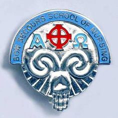 Bon Secours School of Nursing, Southern Ireland, badge 3.