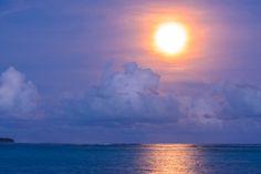 Picture Perfect Sky- Six Senses Laamu, Maldives  www.theroadlestraveled.com