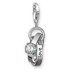 Thomas Sabo Wedding Rings Charm at John Greed Jewellery 27 Birthday Ideas, 27th Birthday, John Greed Jewellery, Jewelry Shop, Fashion Jewelry, Special Symbols, Clip On Charms, Plan My Wedding, Thomas Sabo