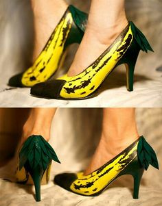 Extreme shoes - bananas