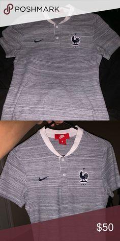 17c295f6a98 Nike France Polo Nike France MNT Polo Size S  50 Nike Shirts Polos