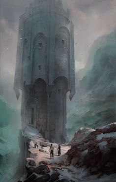 Art about fantasy, steampunk, comics, sci-fi and other lands of dreams. Rpg World, Fantasy Artwork, Fantasy Art, Fantasy Castle, Fantasy Landscape, Fantasy City, Art, Environmental Art, Art Competitions