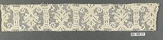 Insertion Date: 16th century Culture: Italian Medium: Bobbin lace Accession Number: 20.186.27