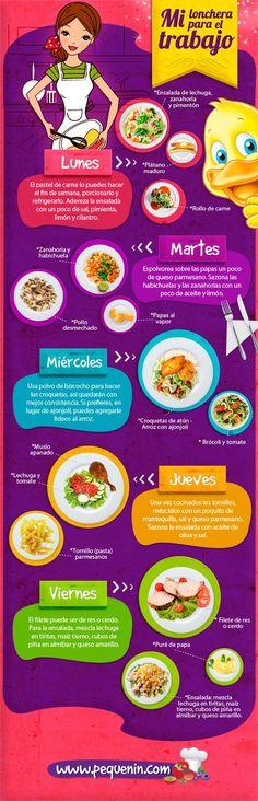 Mi lonchera para el trabajo | Comida saludable | Embarazo