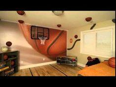Nice Basketball Bedroom