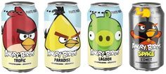 Angry Birds Soft Drink (pop)