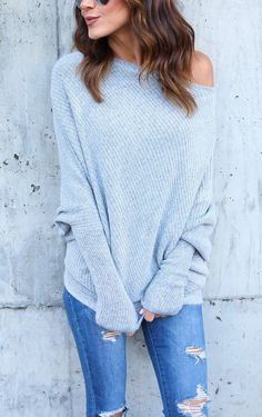 $27.99!Chicnico Fashion Bishop Bateau Solid Color Knit Sweater. Get ready for Fall fashion! Find fashionable outfits for the new season.