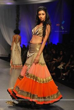 Love that Indian models have some curves.