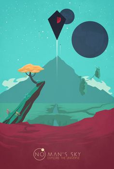 """cm-arts: """"No Man's Sky vol. 3 I swear this is the last No Man's Sky fan art from me, i hope you like it! Style inspiration No Man's Sky Created in Inkscape, vintage texture added in Gimp. People Illustration, Illustration Art, Illustrations, Skull Game, Video Game Posters, Video Games, No Man's Sky, Traditional Artwork, Sky Art"""