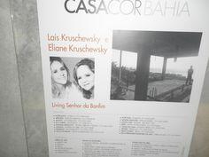 Living. Arquitetas Eliane Kruschewsky e Laís Kruschewsky.