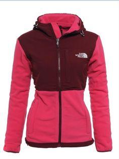 big sale ca2e1 8a71a Womens The North Face Denali Fleece Hoodie Razzle Pink The North Face,  North Face Women
