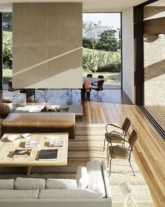 Guarujá home by Isay Weinfeld. Photo by Richard Powers, from Belle December/January 2009/10. #YellowtraceResidential