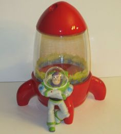 Disney-Pixar-TOY-STORY-BUZZ-LIGHTYEAR-Space-Crane-Cookie-Jar