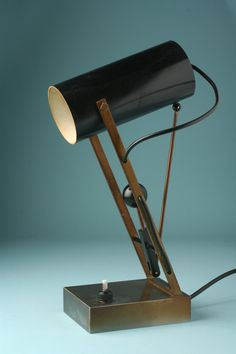 Angelo Lelli, Table lamp for Arredoluce, 1950s.