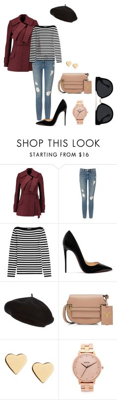"""""""Fall Aesthetic #7"""" by camisteiger ❤ liked on Polyvore featuring Proenza Schouler, Frame, Michael Kors, Christian Louboutin, Harrods, Valentino, Lipsy, Nixon and Quay"""