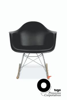 Silla Mecedora Eames - Tugó Proyectos Corporativos. Alternativas de sillas auxiliares para oficina.  Descuento especial en la 2da. unidad. Bassinet, Chair, Bed, Furniture, Home Decor, Eames Rocker, Unity, Chairs, Blue Prints