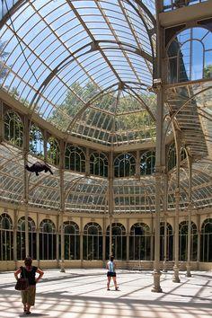 Palacio de Cristal del Retiro (interior)