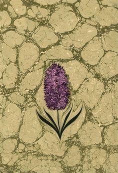 Ebru Art, Water Paper, Water Marbling, Turkish Art, Marble Art, Tulips, Book Art, Miniatures, Caligraphy