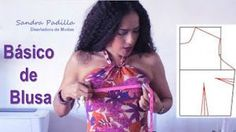 Ideas que mejoran tu vida Dress Sewing Patterns, Clothing Patterns, Sewing Clothes, Pattern Making, Dressmaking, Sewing Projects, Strapless Dress, Crochet, Manual