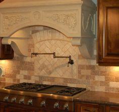 tile backsplash ideas | travertine backsplash ceramic tile | tile