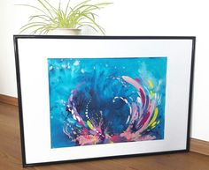 acrylic painting water sea Sea, Water, Artwork, Painting, Gripe Water, Work Of Art, Painting Art, Ocean, Paintings