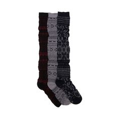 Shop for Womens Nordic Bella Over the Knee Socks 3 Pack in Multi at Shi by Journeys. Shop today for the hottest brands in womens shoes at Journeys.com.