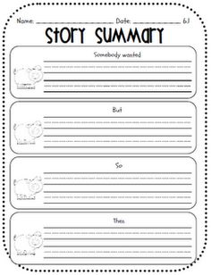 This is the summarizing method I teach...so easy!